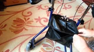 Подробный обзор коляски для взрослых (ролятора) Тимаго 892 (видео)