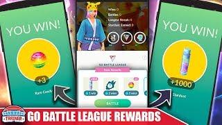 IS *GO BATTLE LEAGUE* WORTH IT?! THE REWARDS & DETAILS OF THE NEW BATTLE LEAGUE | POKÉMON GO