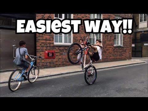 HOW TO WHEELIE A BIKE!!