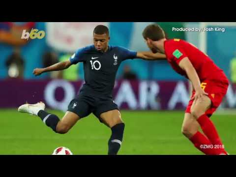 Kylian Mbappe, France Soccer Star, Donating His World Cup Winnings To Charity