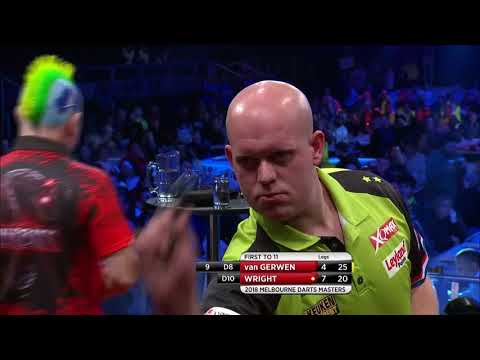 PDC Melbourne Darts Masters 2018 - Michael van Gerwen vs Peter Wright Part 2/2