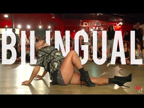 "YANIS MARSHALL HEELS CHOREOGRAPHY ""BILANGUAL"" JOSE NUNEZ. MILLENNIUM DANCE COMPLEX LOS ANGELES"