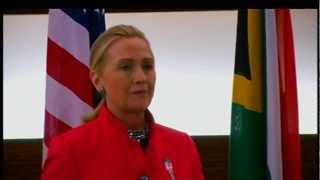 Secretary Clinton Delivers Remarks With South African Foreign Minister Nkoana-Mashabane