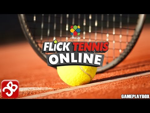 Flick Tennis Online (By ROLOCULE GAMES) - iOS/Android - Gameplay Video