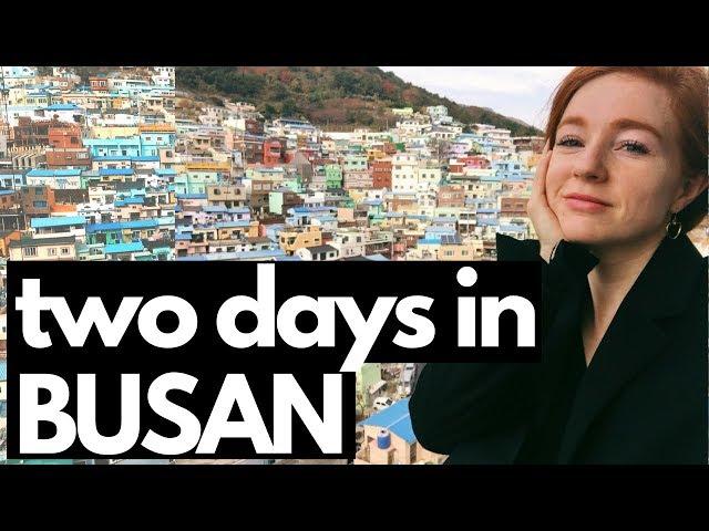 My Weekend Trip to Busan, Korea | VLOG