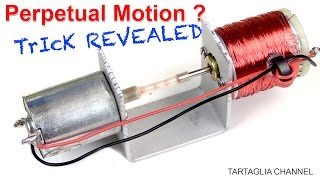 TRICK REVEALED FREE ENERGY motion perpetual Rotation infinity tutorial