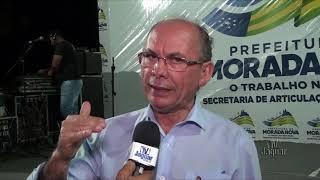 Nelson Martins   Ordem de serviço de recuperação da rodovia estadual CE138 Morada Nova Cristais