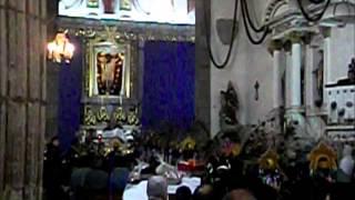 Compostela Nayarit México- Danza En El Templo Del Señor De La Misericordia.