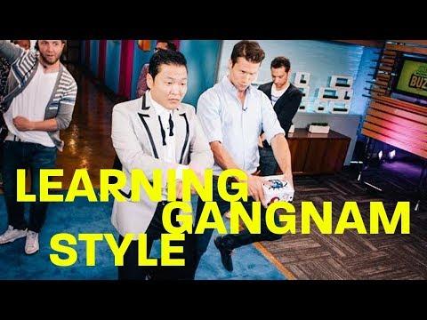 JASON DUNDAS IS LEARNING GANGNAM STYLE  making it