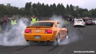Modified Ford Mustang GT - Amazing Burnout!