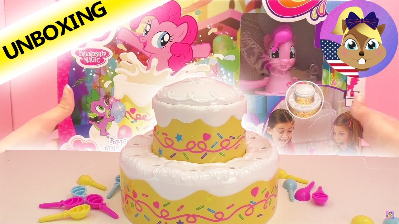 My Little Pony INSIDE OF A CAKE