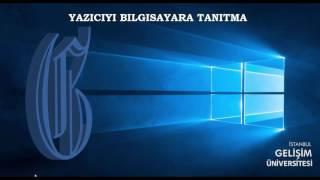 İSTANBUL GELİŞİM ÜNİVERSİTESİ | CANON i-SENSYS 6030B YAZICI TANITIMI