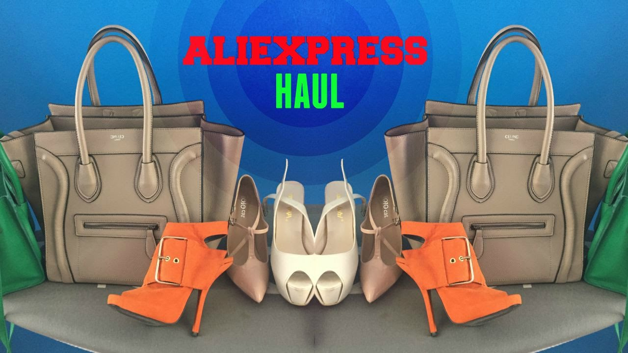 ALIEXPRESS HAUL,shoes, bags, jewelry and aliexpress review+is aliexpress  safe? part 3 - YouTube