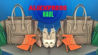 ALIEXPRESS HAUL,shoes, bags, jewelry and aliexpress review+is aliexpress safe? part 3