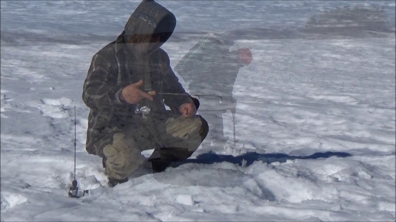 Download ICE FISHING, GOOD BREAKFAST AND A BALD EAGLE...S/O TO LEE ROBINSON, MY BROTHER..