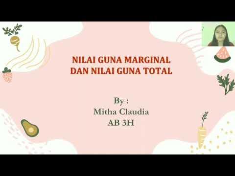 Nilai Guna Marginal Dan Nilai Guna Totàl (Mita Claudia AB3H)