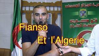Fianso et l'Algérie