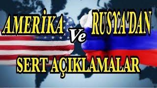 RUSYA VE AMERİKA DAN SERT AÇIKLAMALAR! AFRİN ZEYTİN DALI HAREKATI