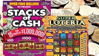WIN! FEELING CRAZY! $20 TICKET ACTION AND SOME LOTERIA FUN! $30 of Texas Lottery Tickets