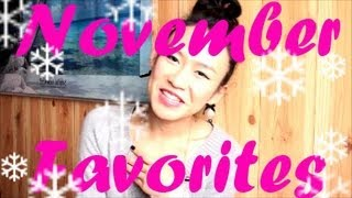 November favorites Thumbnail