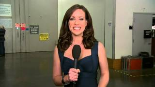 hot news reporter caught on a live satellite wild feed off the air