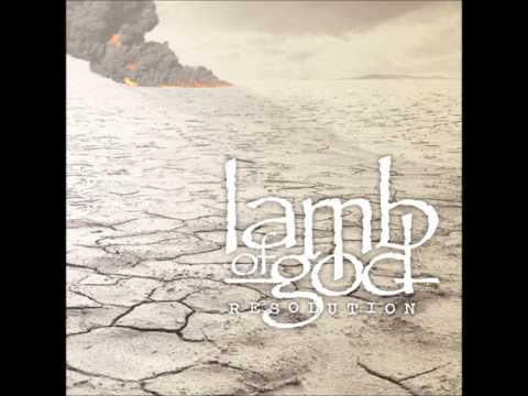 Lamb of God - Straight for the Sun / Desolation *HD w/ LYRICS*