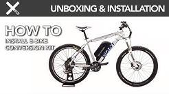 UNBOXING & INSTALLATION: Dillenger Samsung Premium Off Road E-Bike Kit  | E-Biking Now