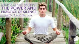 The Power and Practice of Silence with Brent BecVar