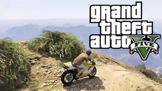GTA 5 - AMAZING BIKE JUMP
