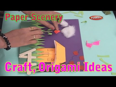 Paper Scenery | Learn Craft For Kids | Origami For Children | Craft Ideas | Craft With Paper