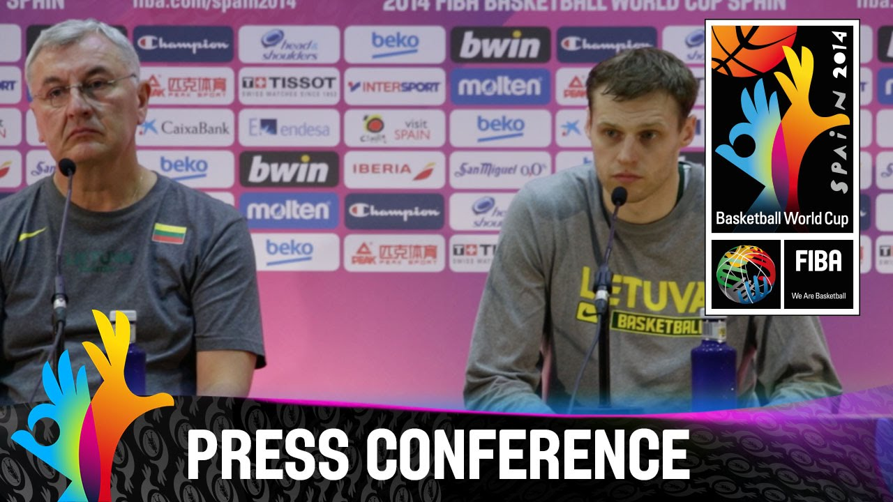 Lithuania - Semi Final - Pre-Game Press Conference