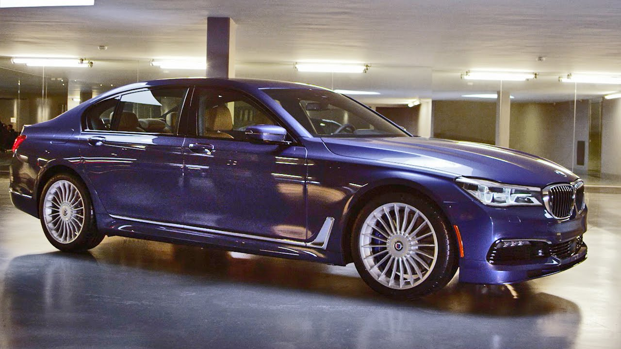 BMW Alpina B7 xDrive 600HP (2017) Official Reveal - YouTube