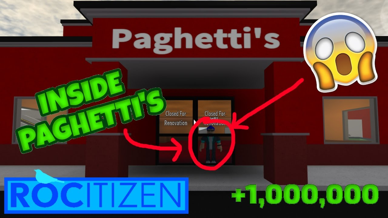Rocitizens: HOW TO GET INSIDE PAGHETTI'S?!? SECRET CABIN ...