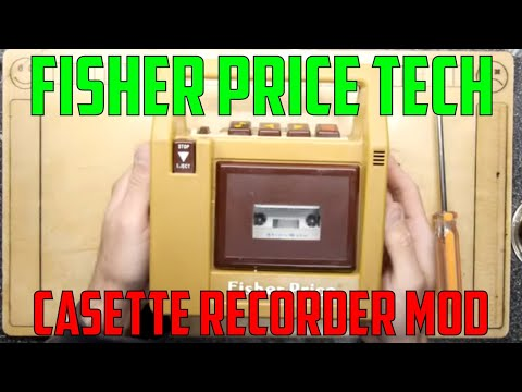 Fisher Price Tape Player And Upgrade