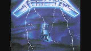 Metallica - Ride The Lightning (Studio Version)