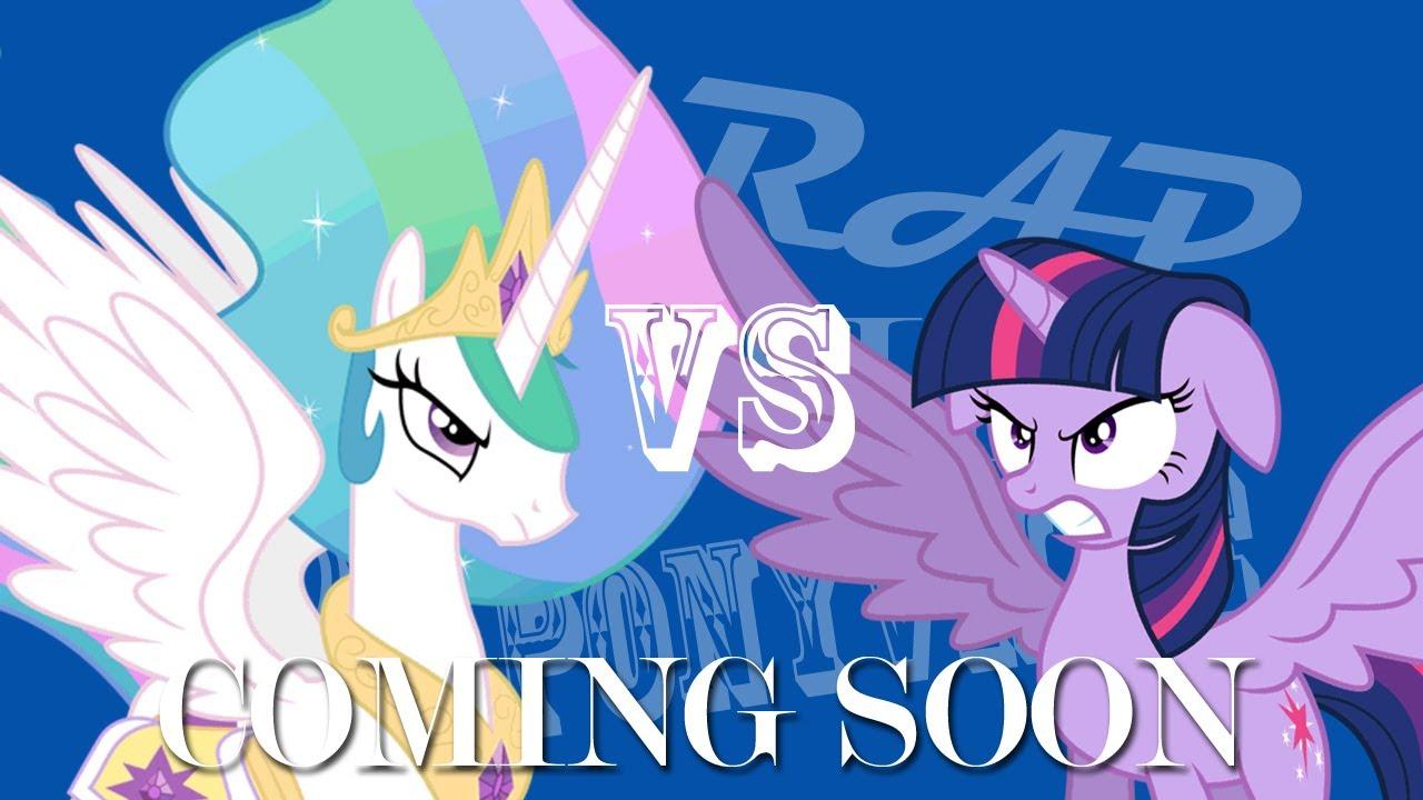ERBOP Princess Celestia VS Twilight