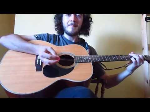 Irish/Scottish/Traditional Jig Strumming Pattern Tutorial for Beginners (6-string Saturday part 1)