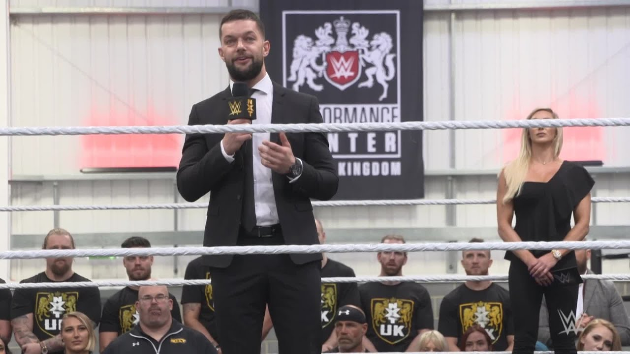 Finn Bálor on how the UK Performance Center creates a clear path to WWE  Superstardom