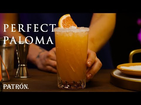 How to Make the Perfect Paloma  Patrón Tequila