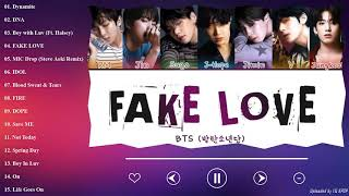 Download [TOP 15] BTS B E S T SONGS (With Lyrics) | PLAYLIST