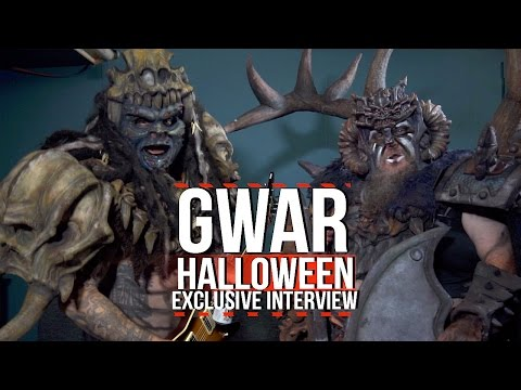 Andrew W. Just O.K. Interviews GWAR on Halloween