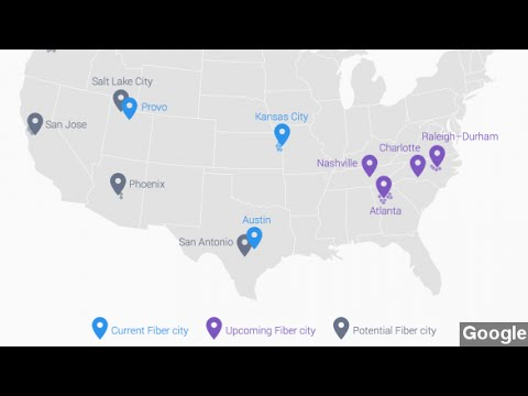 Google Fiber Pressures Incumbent ISPs With Latest Expansion