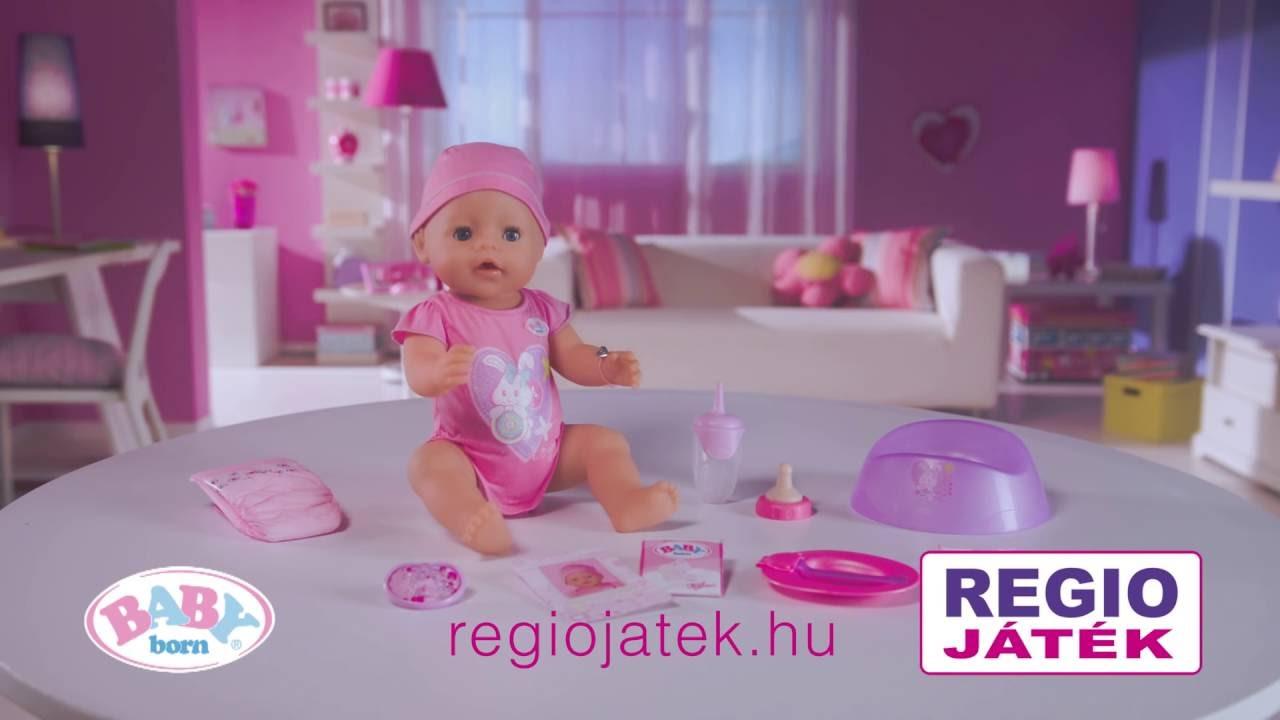 55d5ea1e10 Zapf Baby Born baba 2014 - REGIO JÁTÉK - YouTube