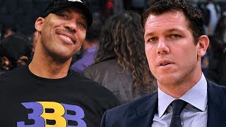 Lavar Ball Could Be REPLACING Lakers Head Coach Luke Walton!
