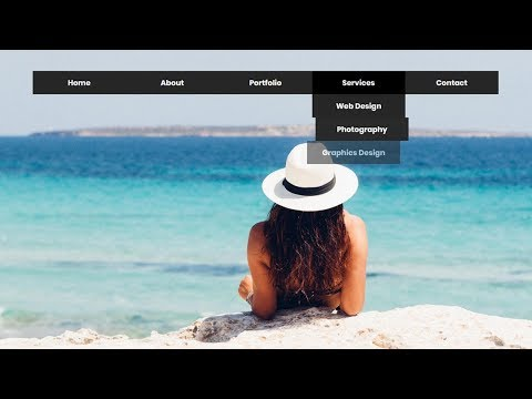 Awesome CSS Dropdown Menu Hover Animation effect   CSS3 Animation Snippets