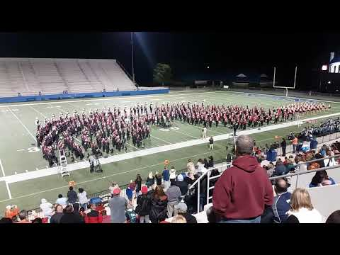 UGA Redcoat Band - F sequence and Glory Glory - 10/16/2017