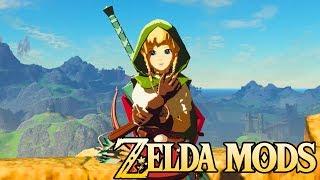 Zelda Mods Weekly #1 - Play as Linkle, Oot Cuccos, & Classic Weapons!
