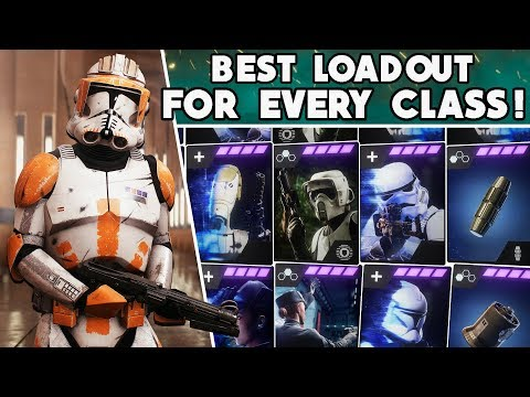 Battlefront 2 - BEST STAR CARDS & BLASTER For EVERY INFANTRY CLASS In ALL GAME MODES! (Updated 2020)