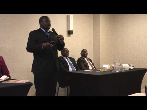 Uganda Diaspora Presentation/Workshop on Dual Citizenship - Washington D.C.