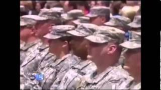 WLOS Interviews Mark Meadows at NC National Guard Mobilization Ceremony